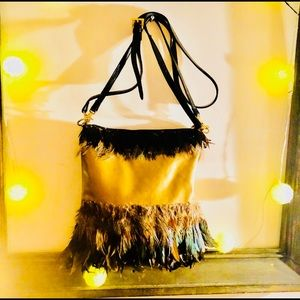 Feathered Tote